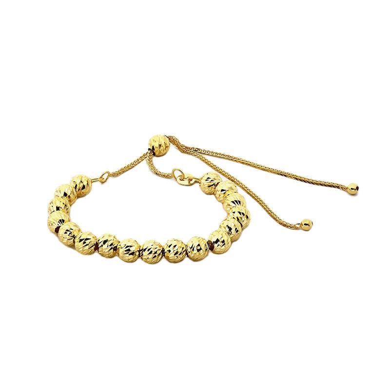 Medallion  Gelang Emas Kadar 75 - Gold Bracelet-WHIZLIZ