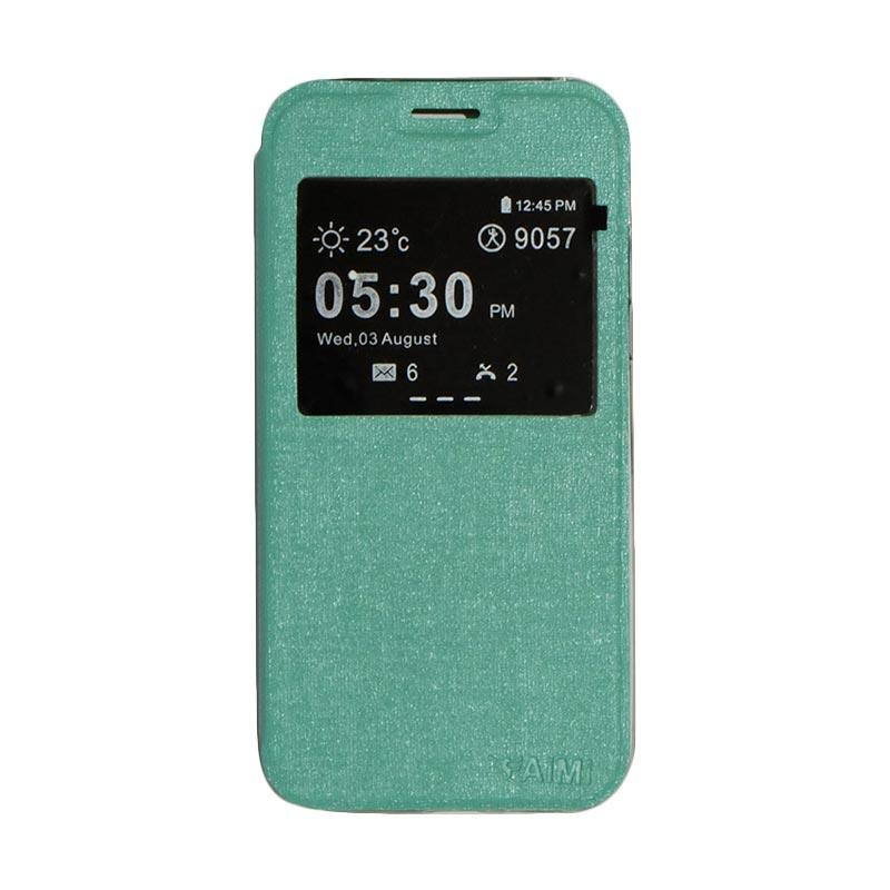 AIMI Flip Cover Casing for Samsung Galaxy A520 or A5 2017 - Tosca