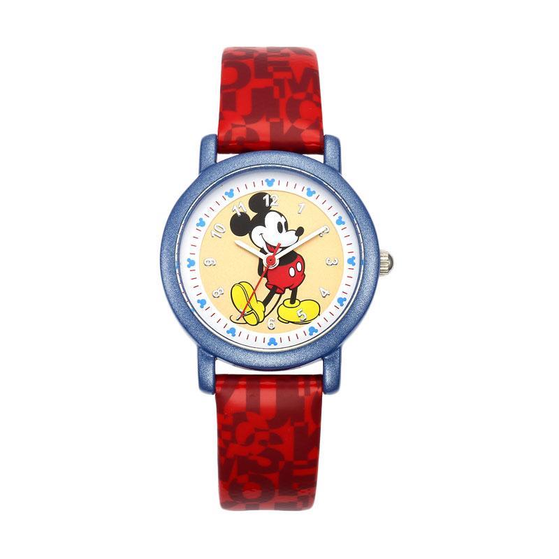 Disney MS14025-R Mickey Jam Tangan Anak Perempuan - Merah