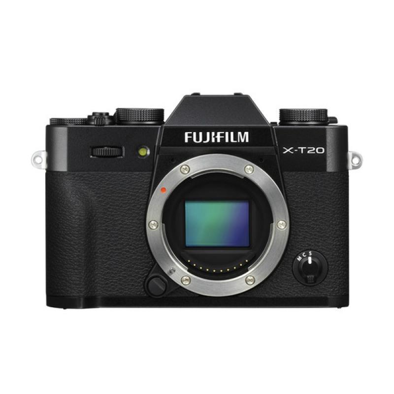 Fujifilm X-T20 Body Only Kamera Mirrorless - Black - 9292606 , 15513753 , 337_15513753 , 12999000 , Fujifilm-X-T20-Body-Only-Kamera-Mirrorless-Black-337_15513753 , blibli.com , Fujifilm X-T20 Body Only Kamera Mirrorless - Black