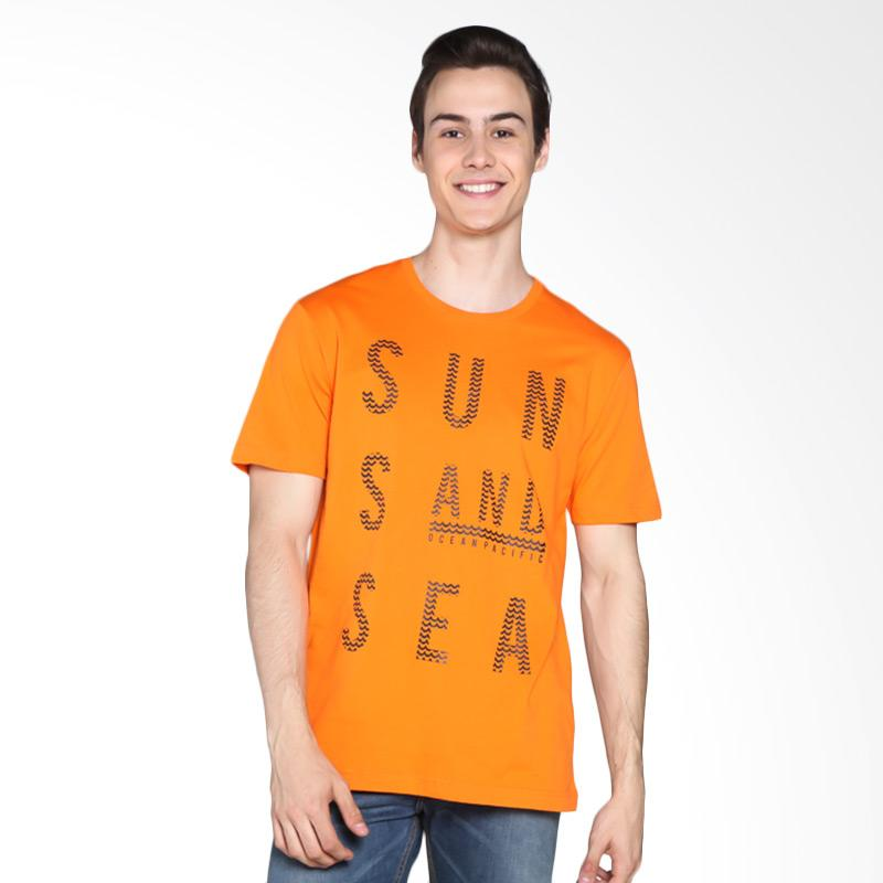 Ocean Pacific 03MTY08587 Young Mens Tshirt - Orange