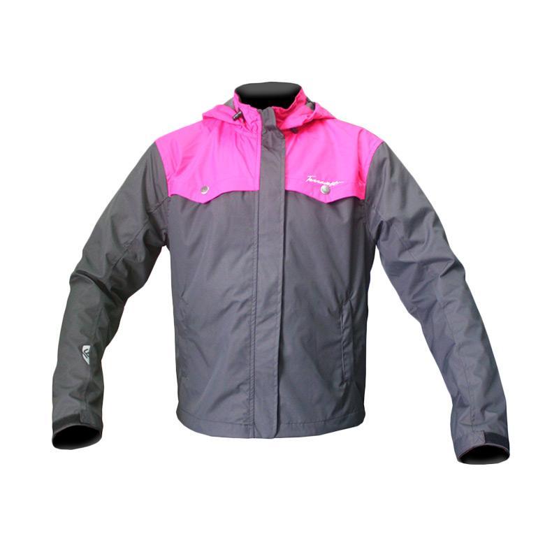 Terravest Ellement Jacket Wanita - Pink Grey