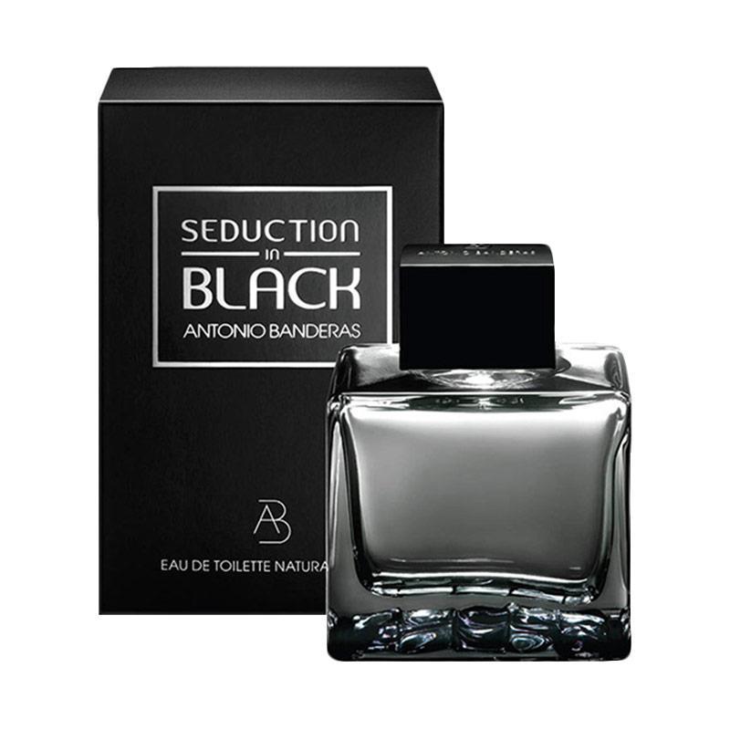 Antonio Banderas Seduction In Black for Man EDT Parfum [100 mL] Ori Tester Non Box