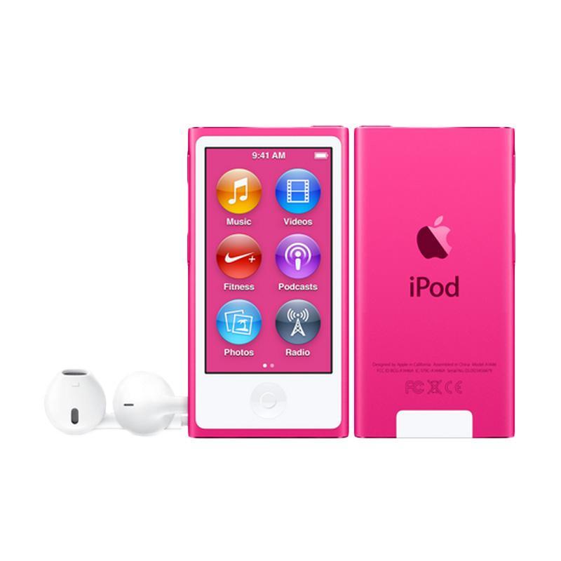 harga Apple iPod Nano 7th Generation Portable Player - Pink [16 GB] Blibli.com