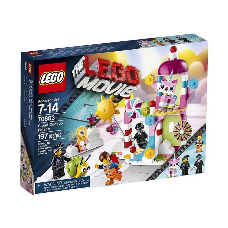 LEGO Movie 70803 Cloud Cuckoo Palace Mainan Blok dan Puzzle
