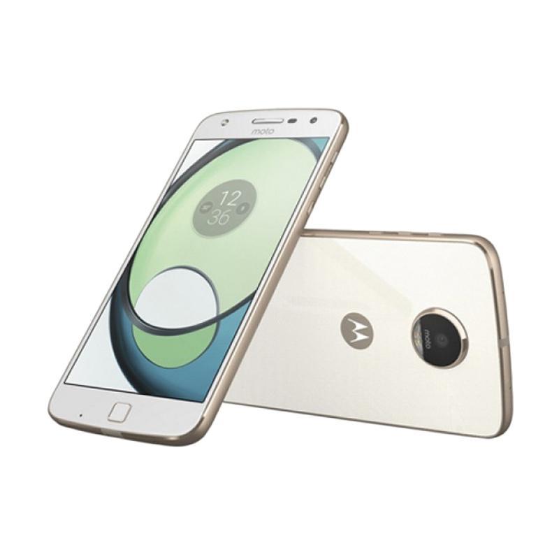 moto z phone white. Motorola Moto Z Play Smartphone - White [32GB/ 3GB] Phone O