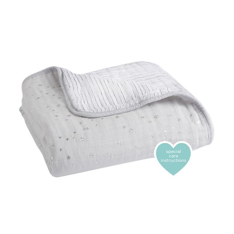 Aden Anais - Metallic Dream Blanket - Charm - Selimut Bayi dan Anak