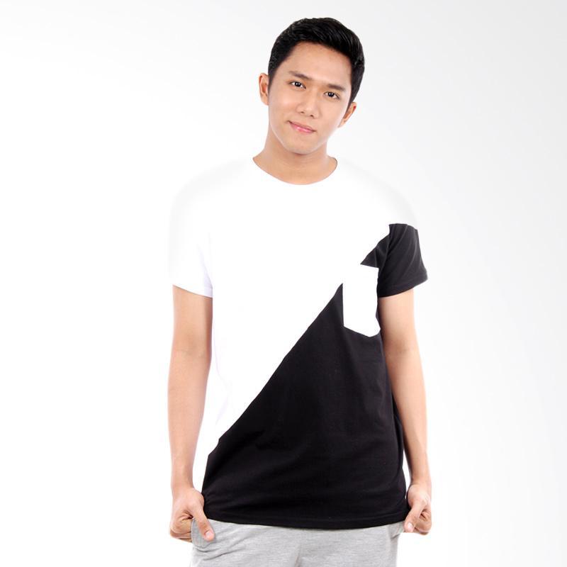 Word.o T-shirt Noir Lengan Pendek Kaos Pria - Putih Extra diskon 7% setiap hari Extra diskon 5% setiap hari