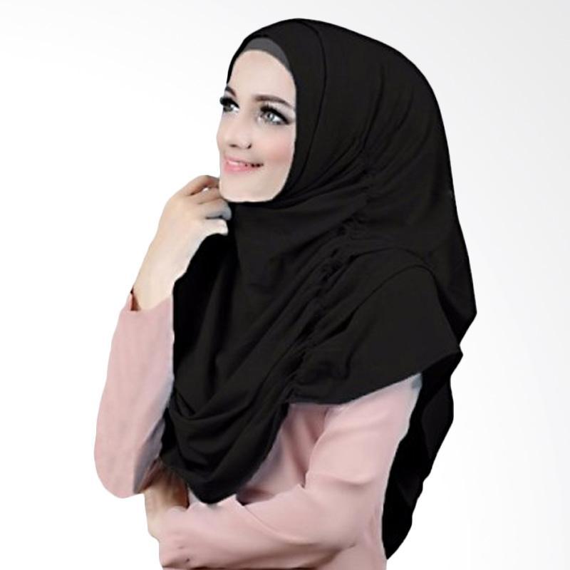 Kus Group Hijab Narinda Kerudung syar'I Hitam