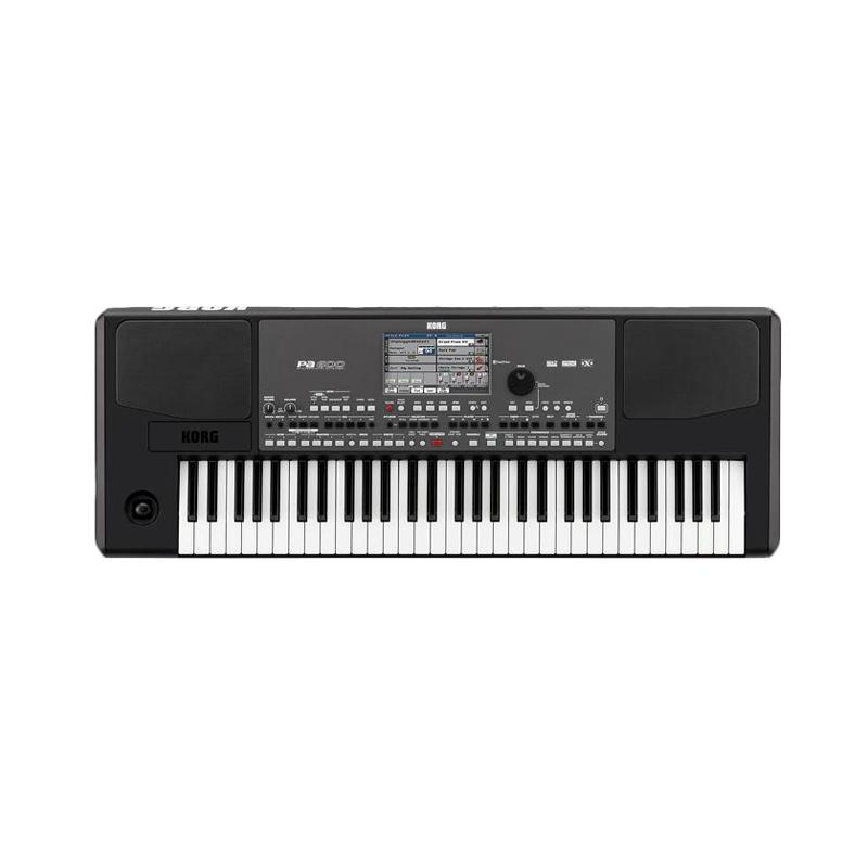 harga KORG PA600 Indonesian Version Arranger Keyboards - Black Blibli.com