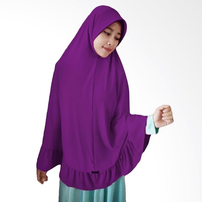 Milyarda Hijab Instant Bergo Pet Ihrom - Ungu