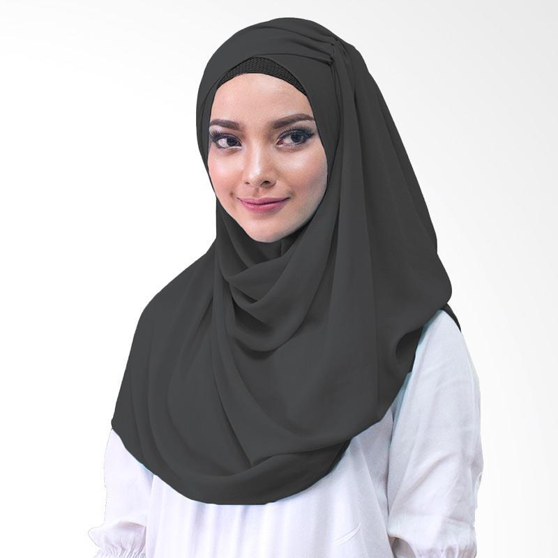 Milyarda Hijab Shakina Kerudung Instan - Hitam