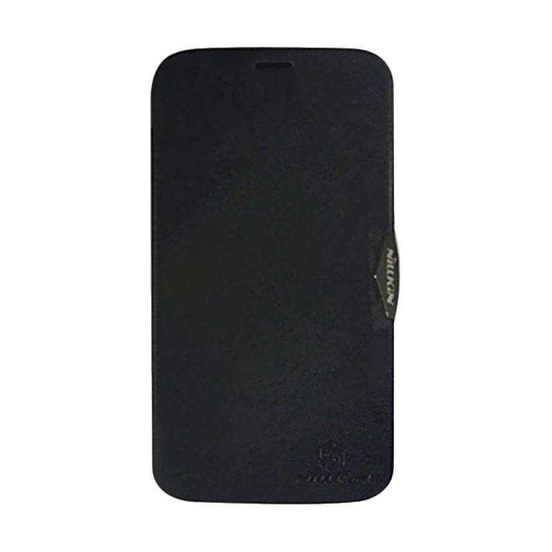 Nillkin Fresh Flip Cover Casing for Lenovo A850 - Black