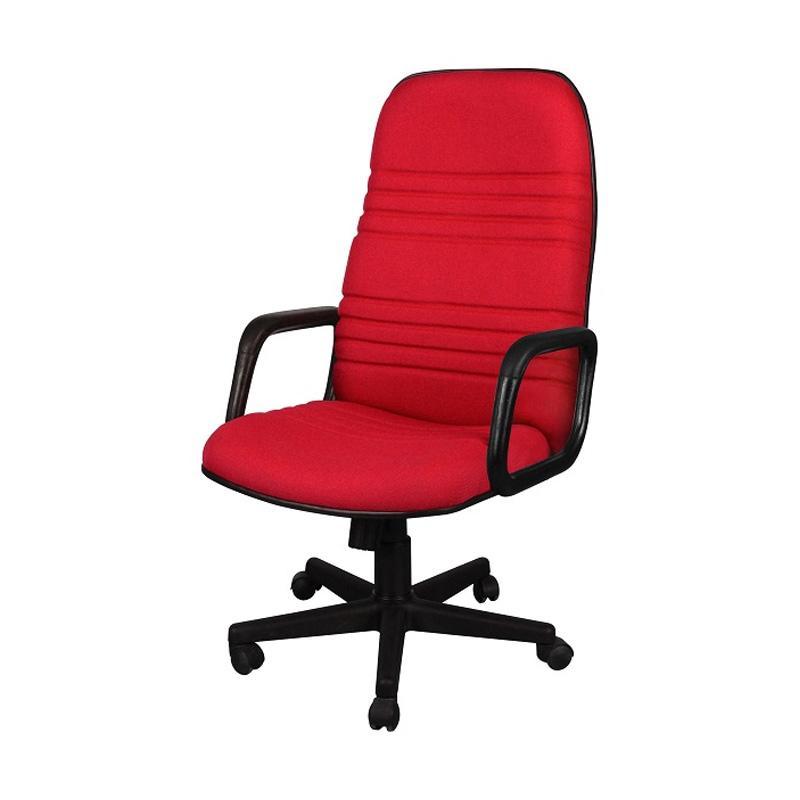 UNO Boston HAU U-1 Office Chair - Merah [Khusus Jabodetabek]