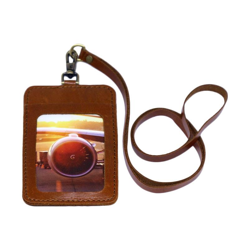 harga Blankenheim ID Card Holder - Kulit Pull Up Brown Blibli.com