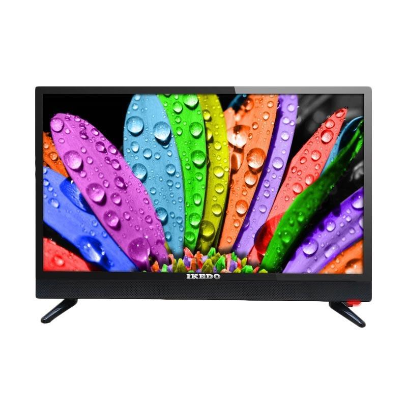 Ikedo LK-32M1A LED TV - Hitam [32 Inch/ Dolby Surround Sytema]