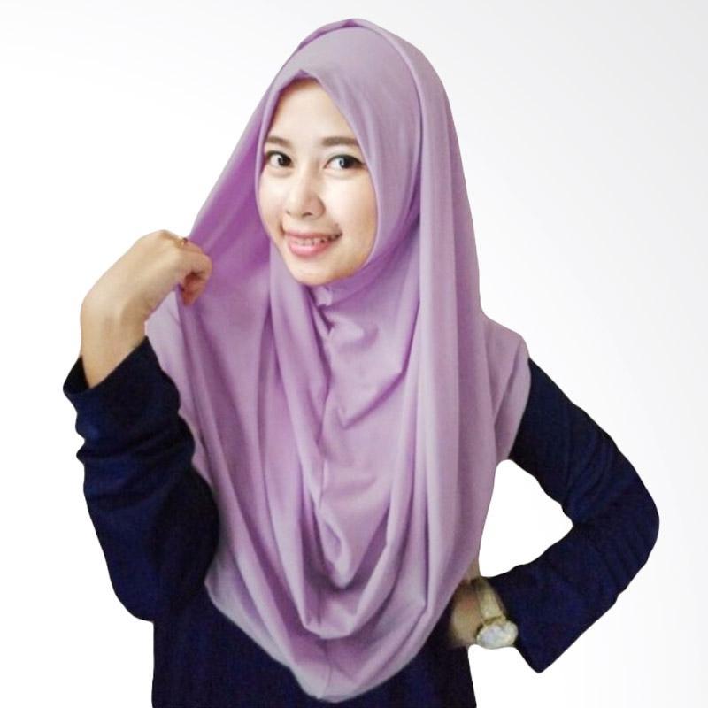 Milyarda Hijab Long Syria Kerudung - Lavender