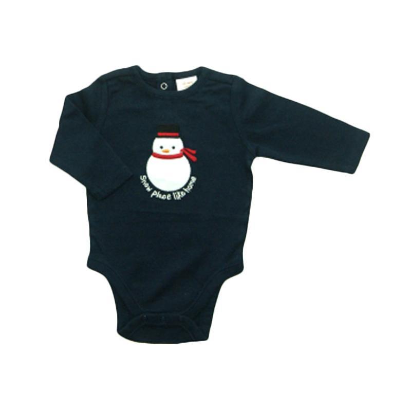 Bearhug Christmas Bodysuit Laki-Laki - Navy