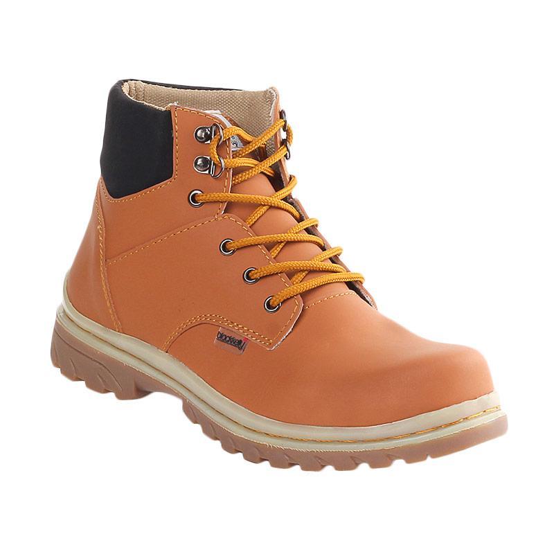 Blackkelly LTA 991 Freeman Sepatu Semi Boots Pria