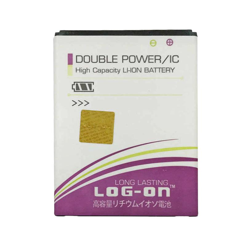 Log On Double Power Battery for Evercoss A7B [2200 mAh]