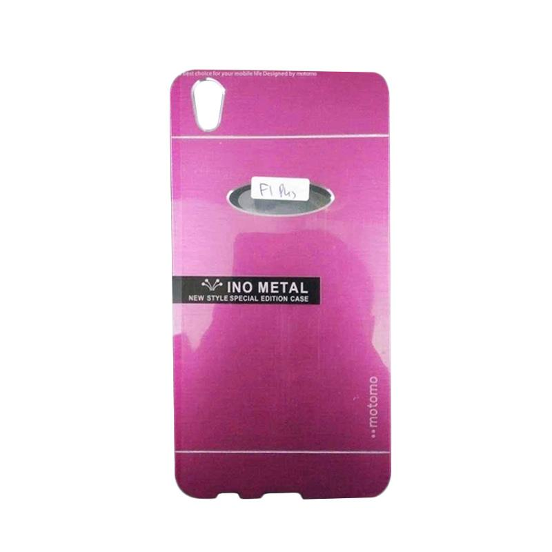 Motomo Hardcase Casing for Oppo F1 Plus or R9 - Pink