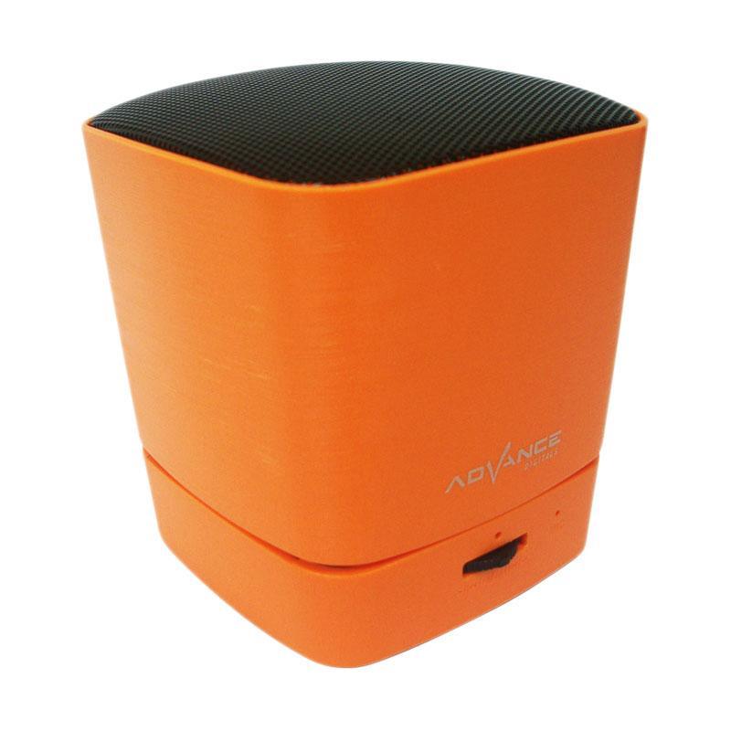 harga Advance ES030K Mini Portable Bluetooth Speaker - Orange Blibli.com