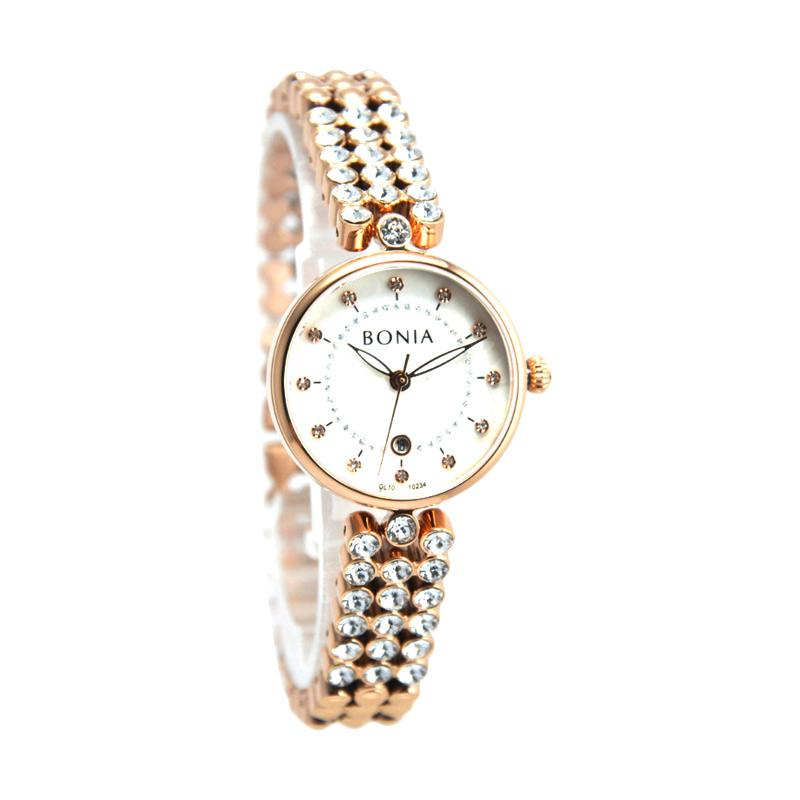 Bonia BN10234-2517 Women Rose Gold Stainless Steel