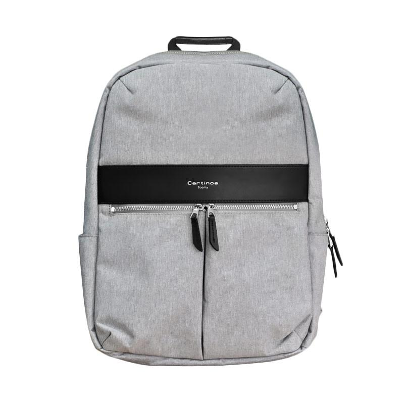 Cartinoe London Style Backpack Series Tas Laptop -  Grey [15.4 Inch]