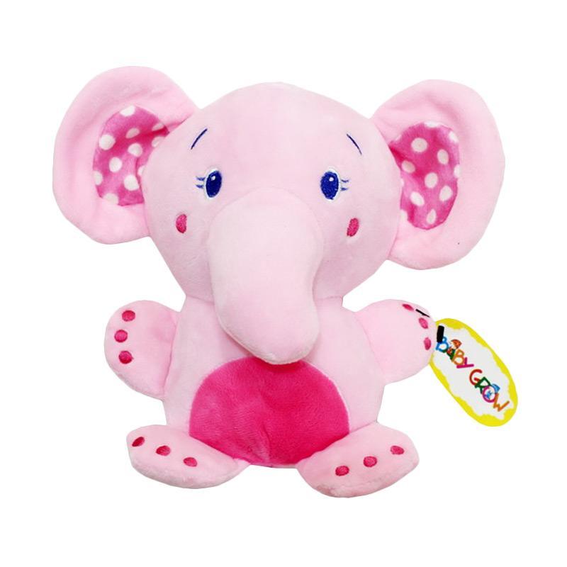 Chloebaby Shop S202 Elephant Musik Tarik Mainan Anak - Pink