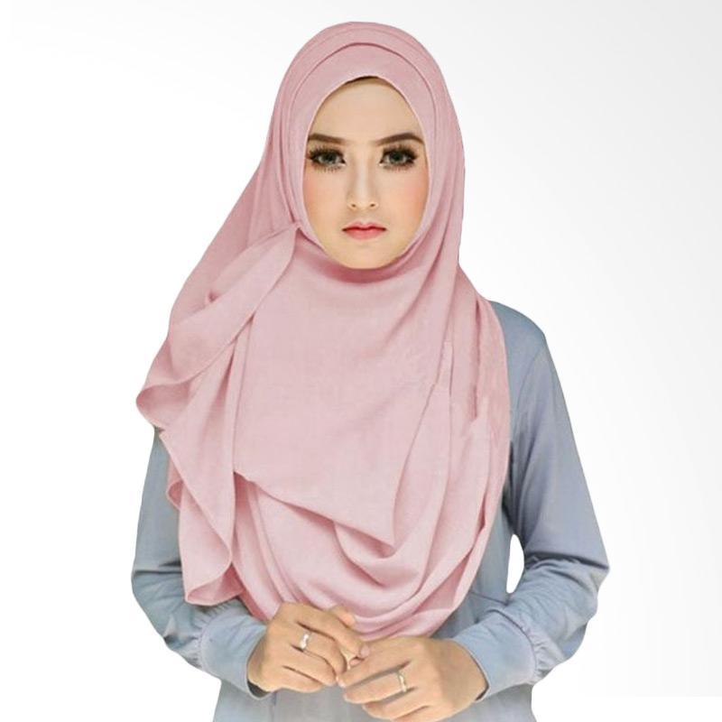 Kus group Hijab Tazkia Kerudung - Dusty Pink