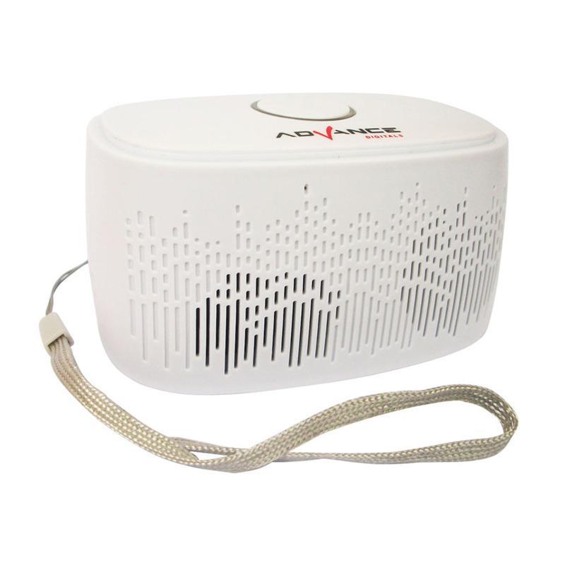 harga Advance ES030G Mini Portable Bluetooth Speaker - Putih Blibli.com
