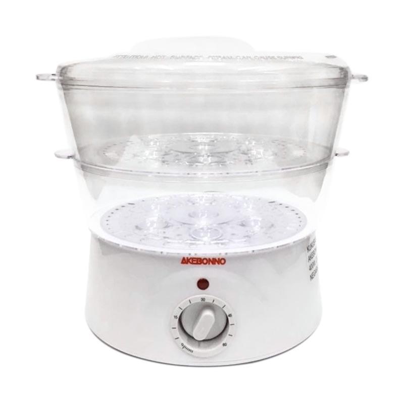 Daily Deals - Akebonno MSP-92214B Pengukus Makanan Elektrik - Putih