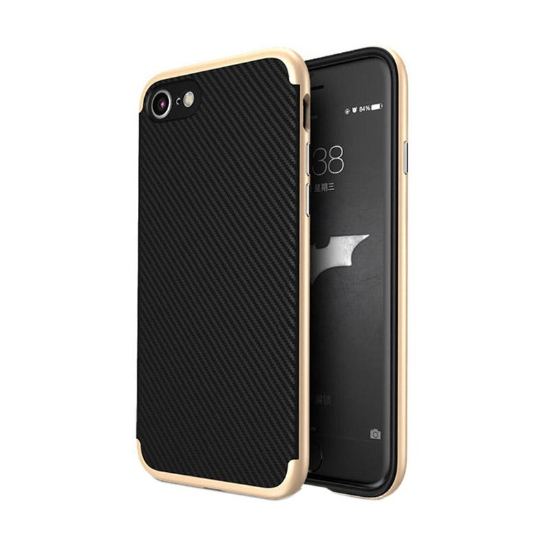 Likgus Tough Shield Carbon Hybrid Casing for Iphone 7 - Gold