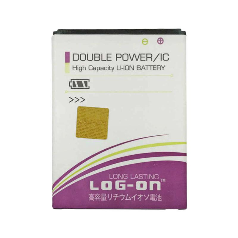 Log On Double Power Baterai for Evercoss A33C [2400 mAh]