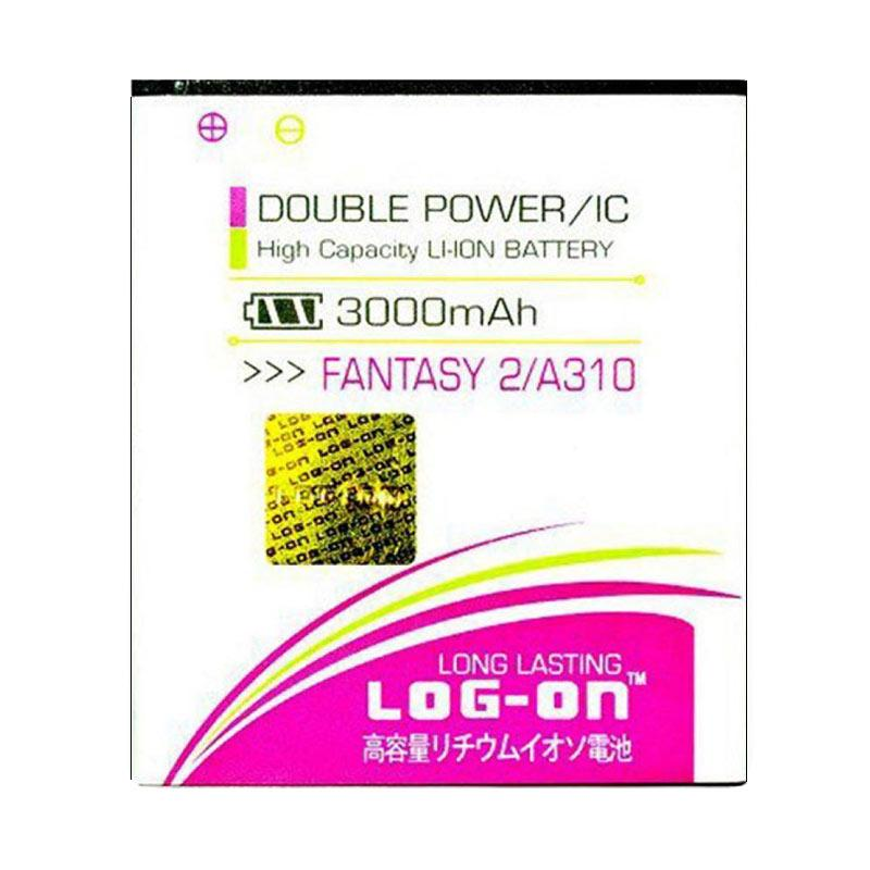 Log On Double Power Battery for Mito Fantasy2 A310 [3000 mAh]