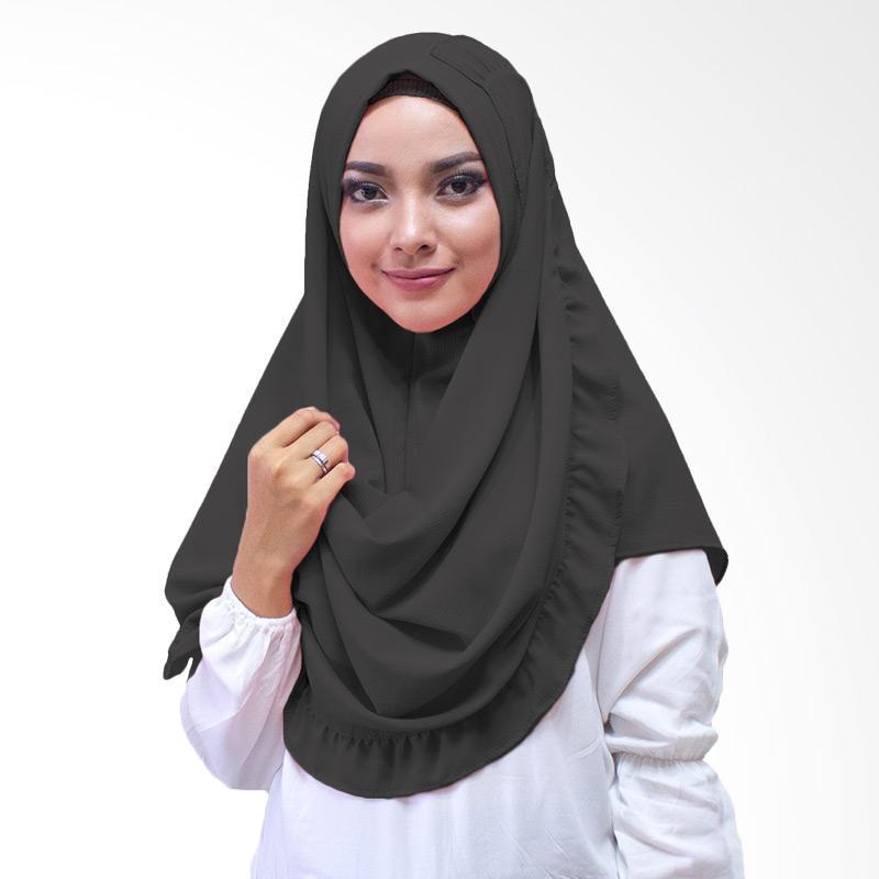 Milyarda Hijab Kenisha Kerudung Instan - Hitam