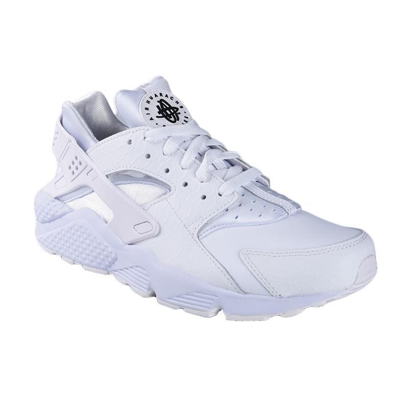 35415b53d2b5 ... Nike Air Huarache Run Premium Sepatu Olahraga - White 704830-100 ...