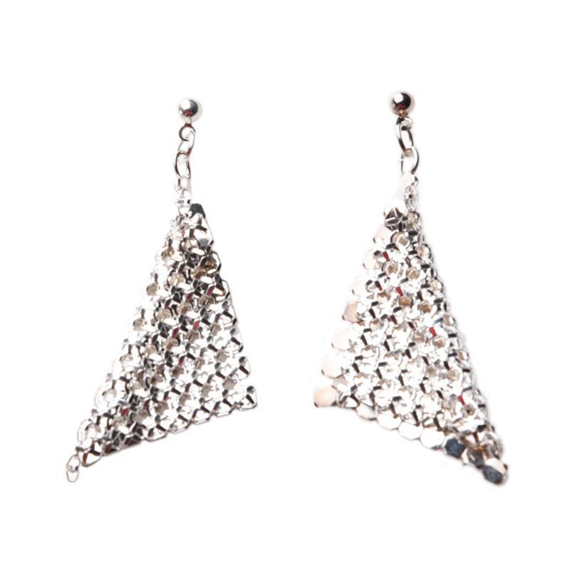 1901 Jewelry GW.6165.HR25 Verho Earring 6165 Anting - Silver