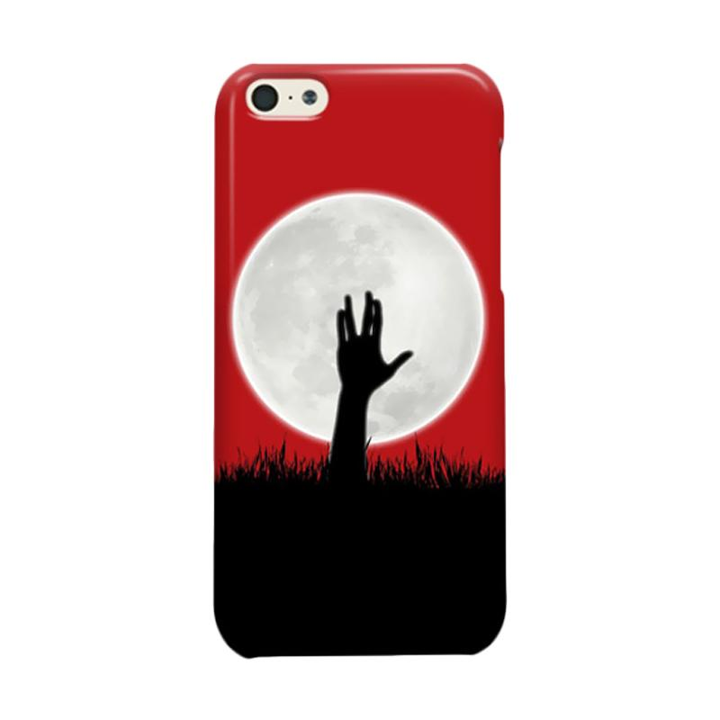 Indocustomcase Zombie Spock Cover Hardcase Casing for Apple iPhone 5C