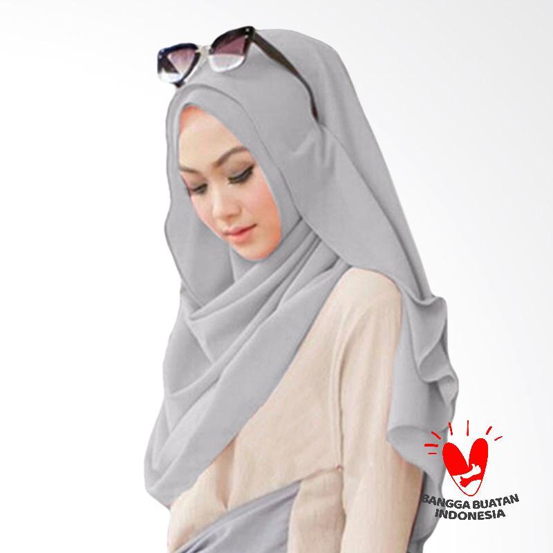Milyarda Hijab Pashmina Instant Belle - Silver
