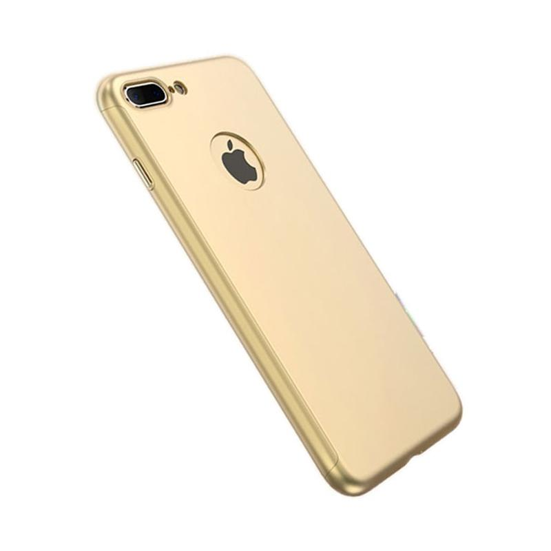Tunedesign TPU 360 Casing for iPhone 7 Plus - Gold