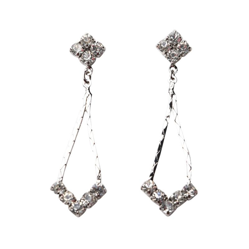 1901 Jewelry GW.4128.HR51 4128 Anting - Silver
