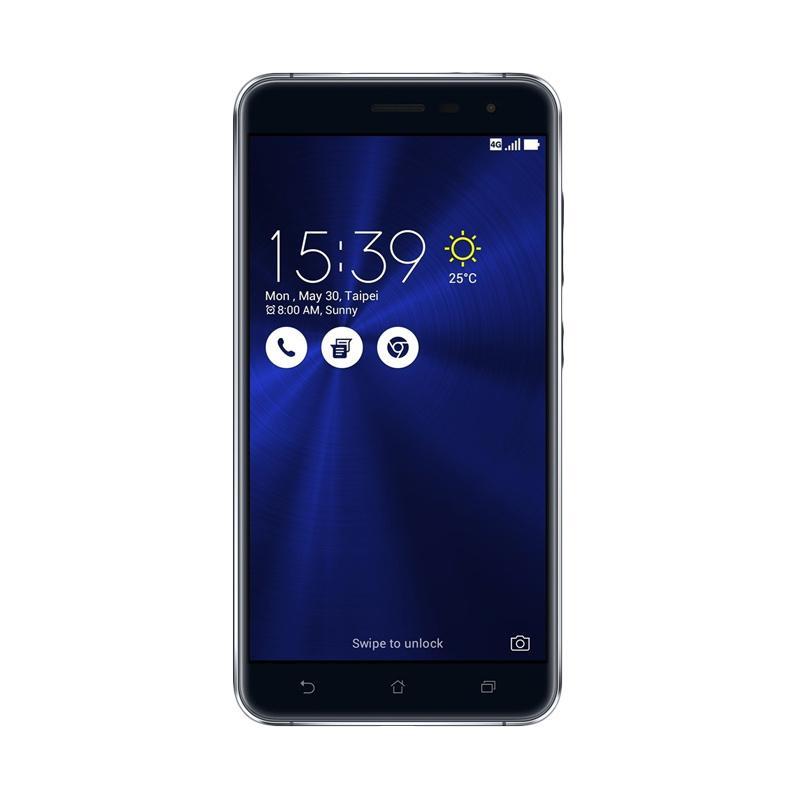 Asus Zenfone 3 ZE552KL Smartphone - Hitam [64GB/ 4GB/ Cortex-A53]
