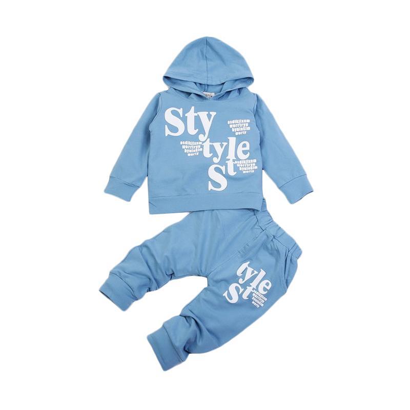 Chloe Babyshop F967 Setelan 3in1 Style Set - Blue