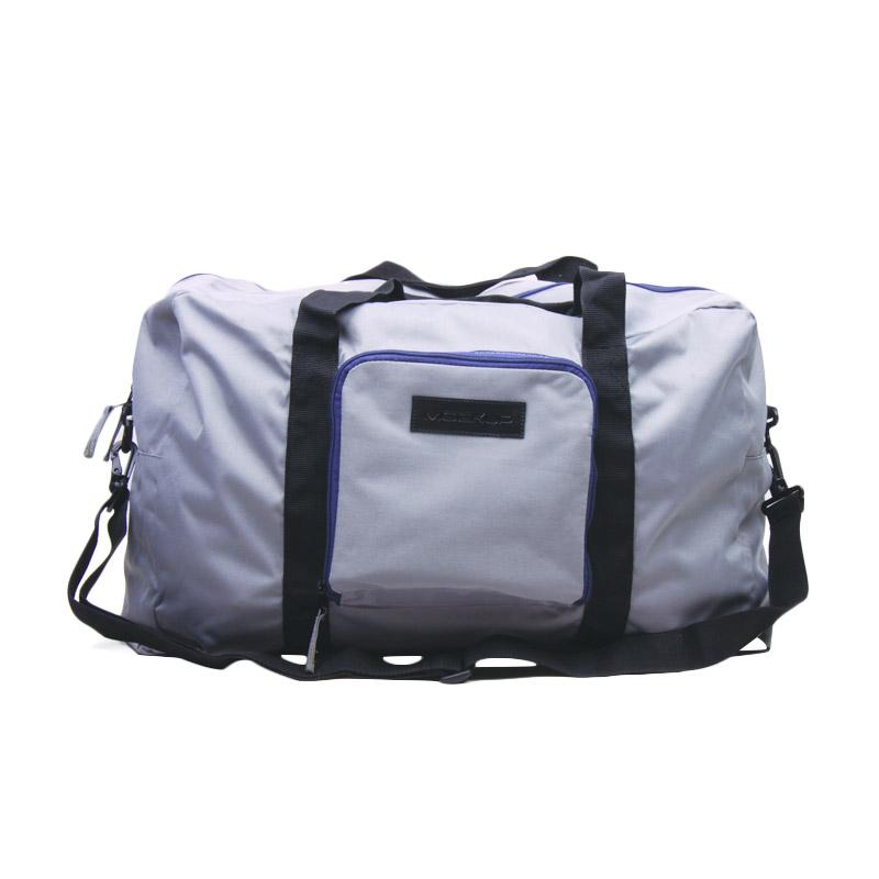 Mockup BFL05 Double Cabin Unisex Foldable Bag - Grey Black