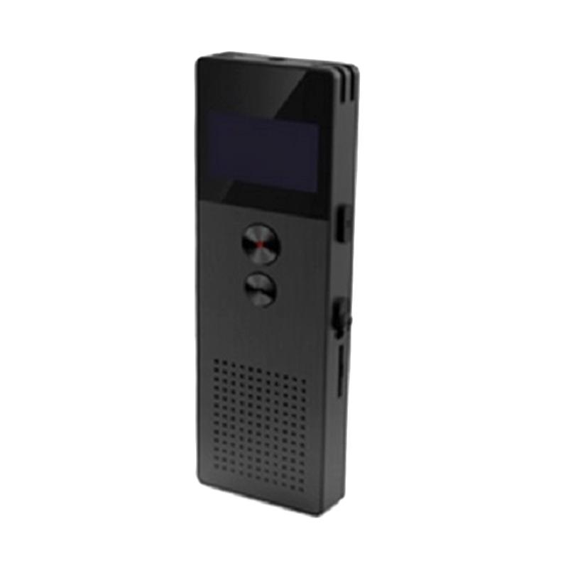 Remax RP1 Digital Meeting Voice Recorder Perekam Suara - Black