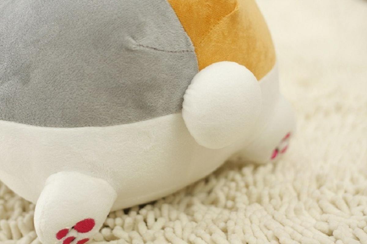 Spicegift Boneka Kucing Grin Putih Referensi Daftar Harga Terbaru Exclusive Free Sisir Smile Brand Rp 174900 116500