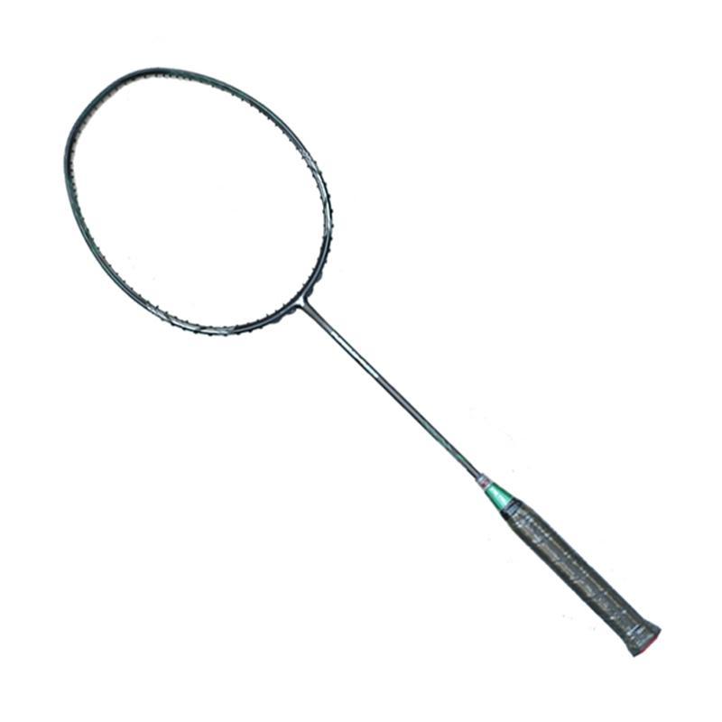 Yang Yang Furious R980 Raket Badminton - Black Green