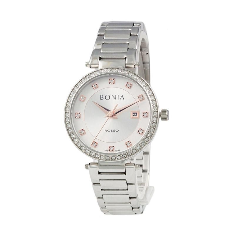 Bonia BN10284-2317S Jam Tangan Wanita Silver Stainless Steel