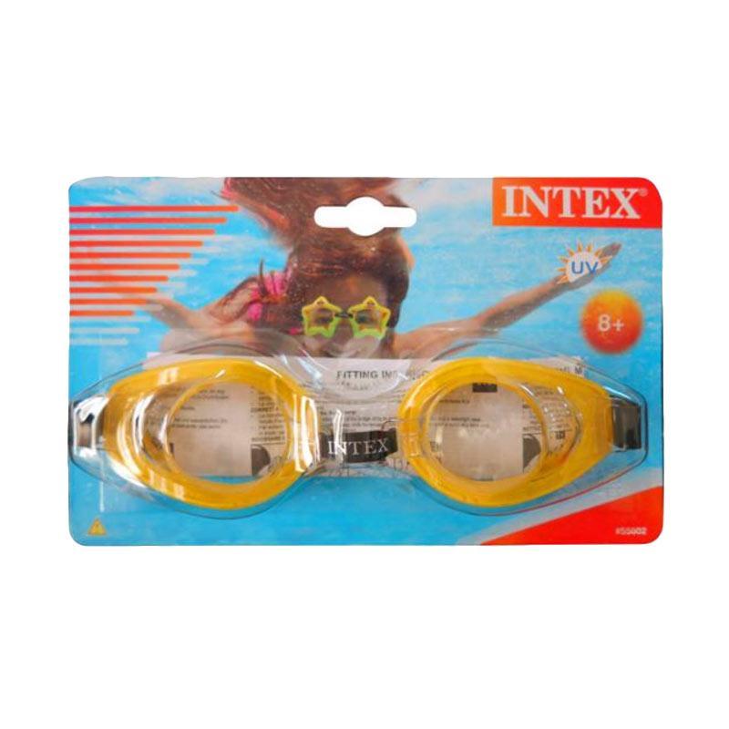 harga INTEX Kacamata Renang Play Goggles Yellow / Kuning 55602 Original Item Blibli.com